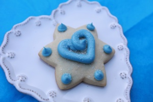 Star of David Sugar Cookie